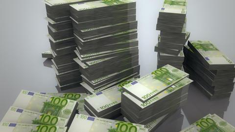 Pile of Euros Animation