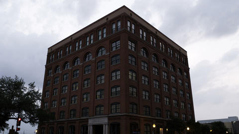 Former Texas School Book Depository, site of President Kennedy's assassination Footage