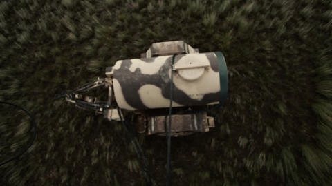 Fuel tank being released from helicopter Footage