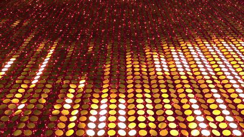 Glitter Back perspect line Gold3 4k CG動画