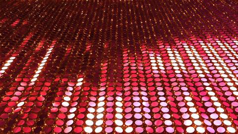 Glitter Back perspect line Red2 4k CG動画