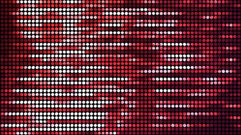 Glitter Back horizon line Red 4k Animation