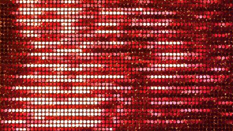 Glitter Back horizon line Red2 4k Animation