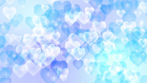 Heart-pastel-lateral-direction-blue Animation