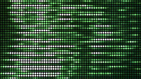 Glitter Back horizon line Green 4k CG動画