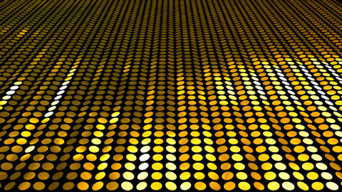 Glitter Back perspect line Gold 4k CG動画