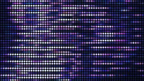 Glitter Back horizon line Blue 4k Animation