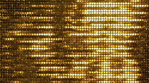 Glitter Back horizon line Gold2 4k CG動画