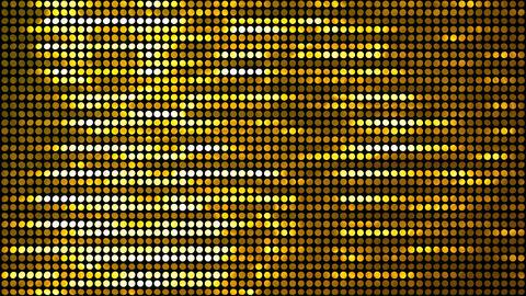 Glitter Back horizon line Gold 4k Animation