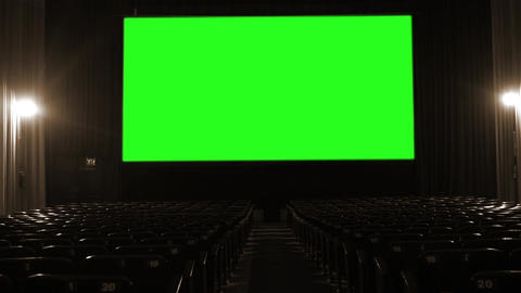 Cinema with Green Screen GIF
