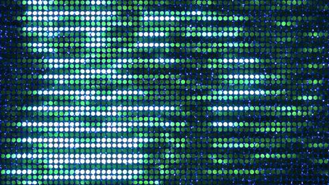 Glitter Back horizon line Green3 4k Animation