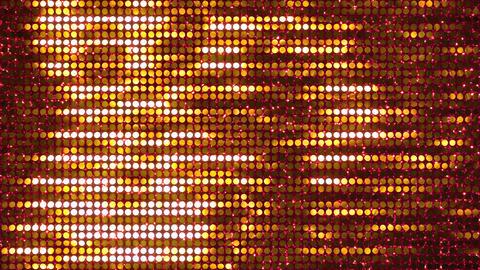 Glitter Back horizon line Gold3 4k CG動画