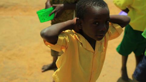 Smiling Kenyan boys Footage