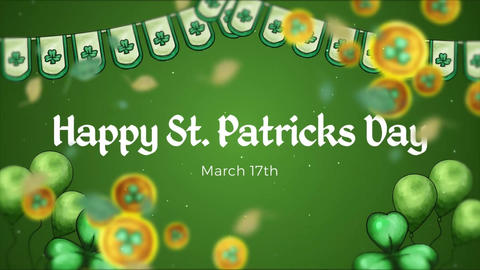 St. Patricks Slideshow After Effects Template