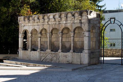 Isernia fountain, Molise, Italy Photo