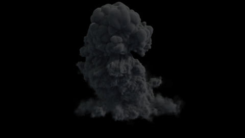 Smoke Burst Animation