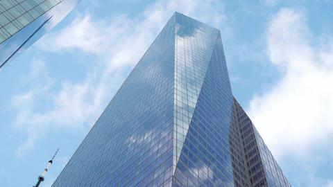 Bank of America skyscraper in Manhattan Footage