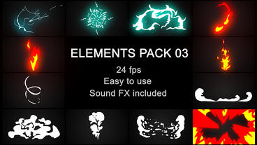Elements Pack 03 After Effects Template