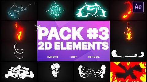 Elements Pack 03 Motion Graphics Template