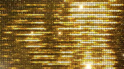 Glitter Back horizon line Gold2 Flash 4k CG動画
