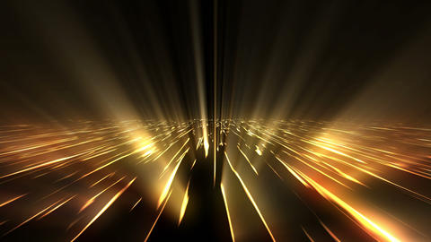 Golden Glowing Background Animation