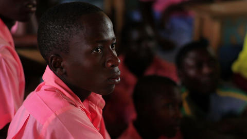 Students in class in a school in Kenya, Africa Footage