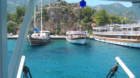 MARMARIS, TURKEY - JUNE 10, 2016: People on the streets Live Action
