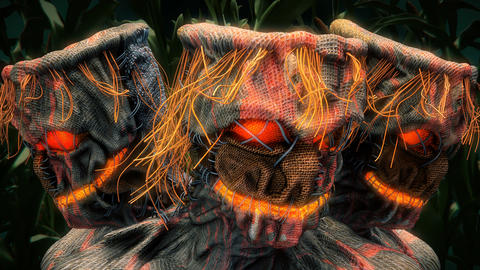Scarecrow VJ Loop Animation