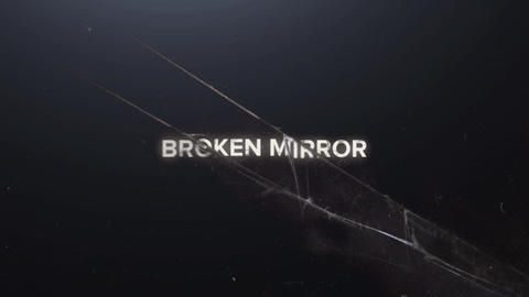 BROKEN MIRROR INTRO After Effects Template