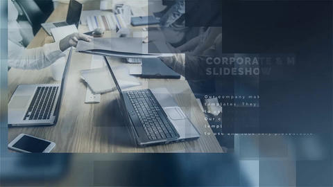 Corporate & Modern Slideshow After Effects Template