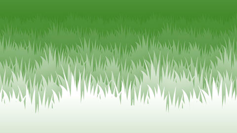 [alt video] 2d grass flat style parallax animated background loop v2