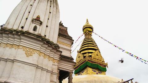 Buildings in Kathmandu, Nepal Footage