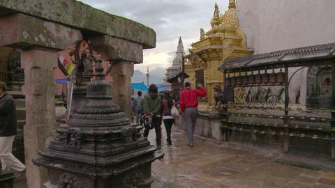 Buildings in Kathmandu Footage