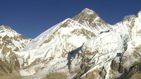 Panorama of Everest, Lhotse, and Nuptse Footage