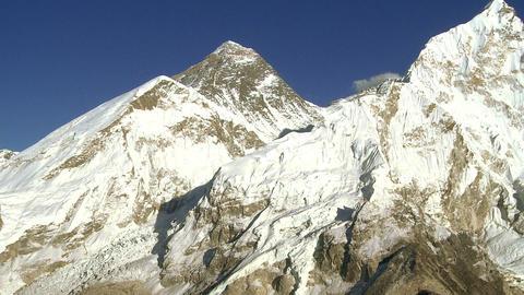 Mount Everest, Lhotse, and Nuptse Footage