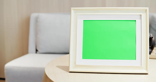 close up of photo frame Footage
