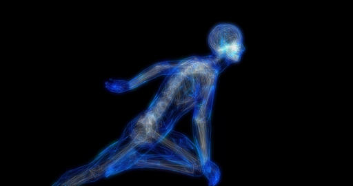 Sports Medicine and Fitness Analytics as a Concept Footage