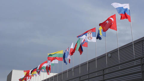 National flags Archivo