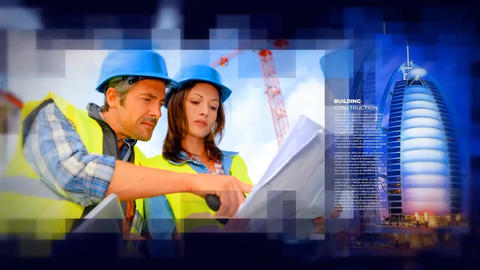 Construction Promo - Building After Effects Template