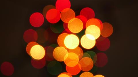 Defocused bokeh lights background GIF