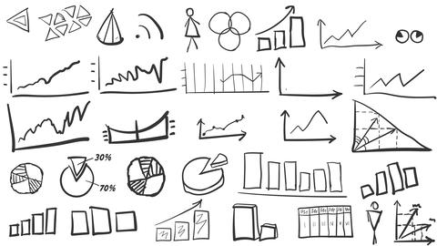 A set of graphs and diagrams Animation