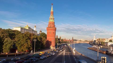 Timelapse The Moscow Kremlin ビデオ