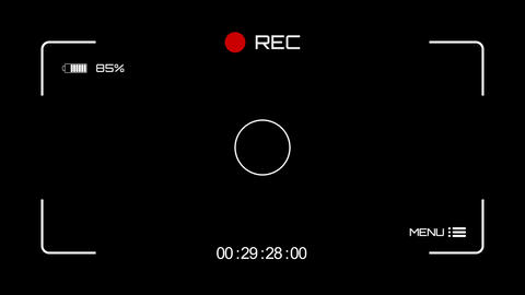 Camera Recording Screen Animation