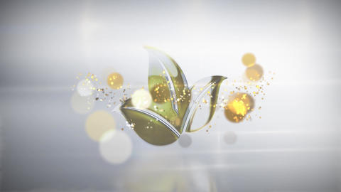 Gold Logo After Effects Template