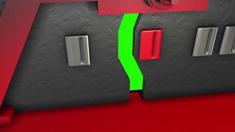 animation - sci fi door opening Animation