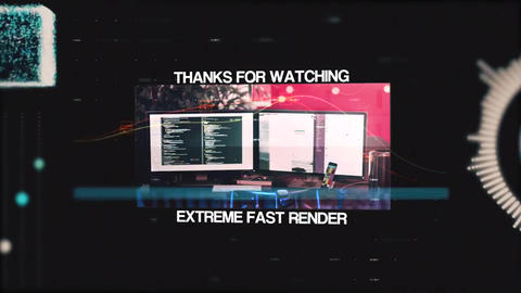 Technology Digital Intro Premiere Pro Template