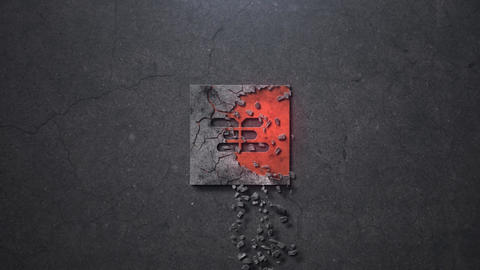CRACKS LOGO REVEAL After Effects Template