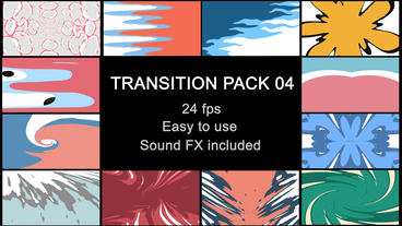 Liquid Transitions Pack 04 After Effects Template