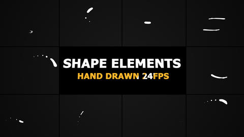 Shape Elements Motion Graphics Animation