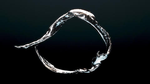 Liquid Metal Loop Animation